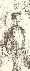 João da Ega por Bernardo Marques (pormenor)