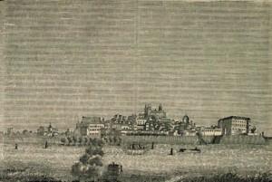Évora em meados do séc. XIX