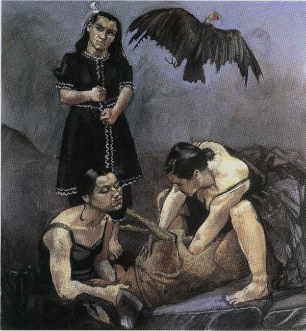 O Sonho de Amélia, por Paula Rego