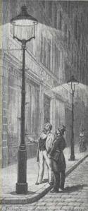 Iluminação a gás na Inglaterra (1807)