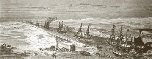 Inauguração do Canal de Suez